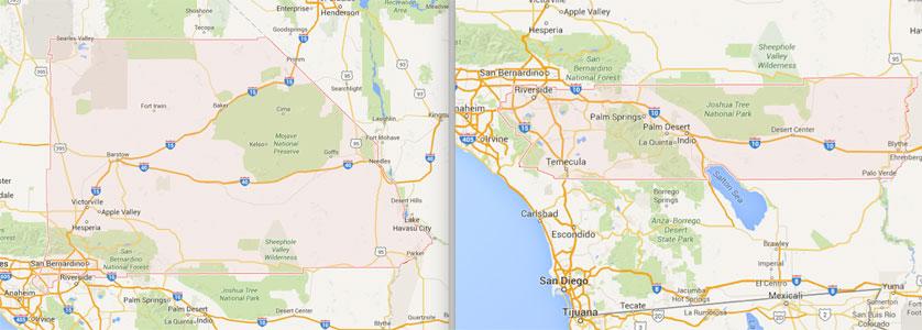 San Bernardino & Riverside County